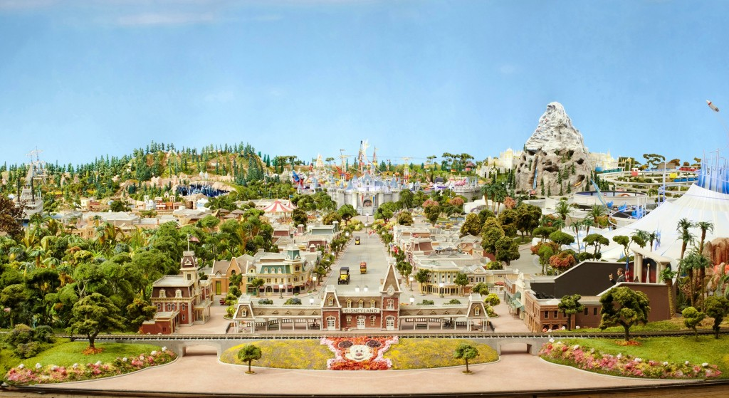 Model of the Disneyland of Walt's Imagination Walt Disney Family Museum Yesterday, Today, and even Tomorrowland #Waltagram #InsideOutEvent