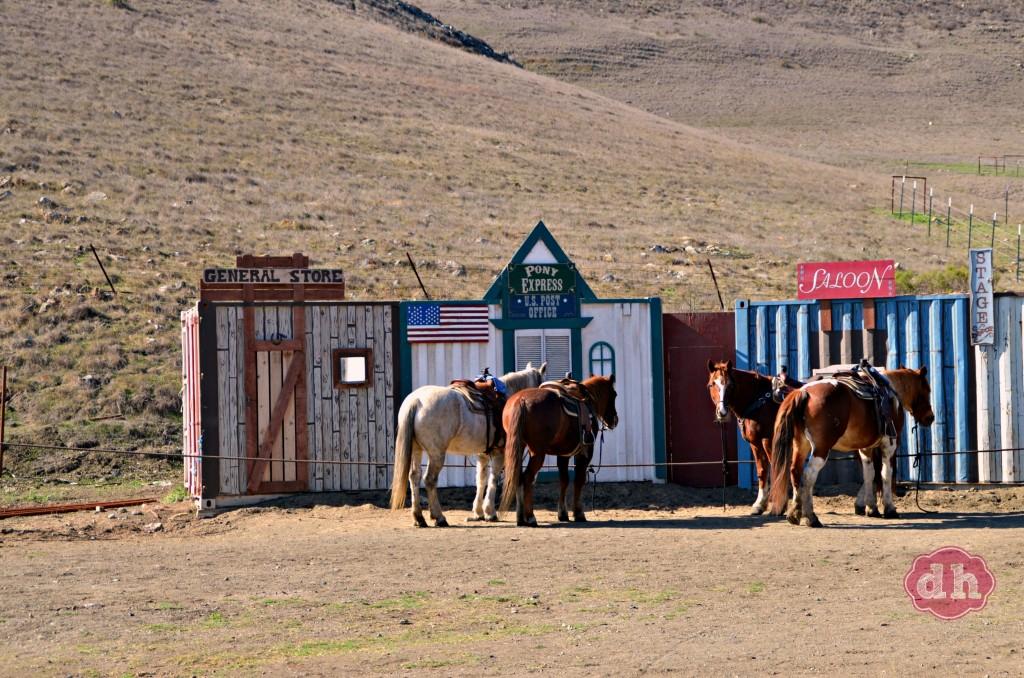 Horseback Riding at the Madonna Inn #travel