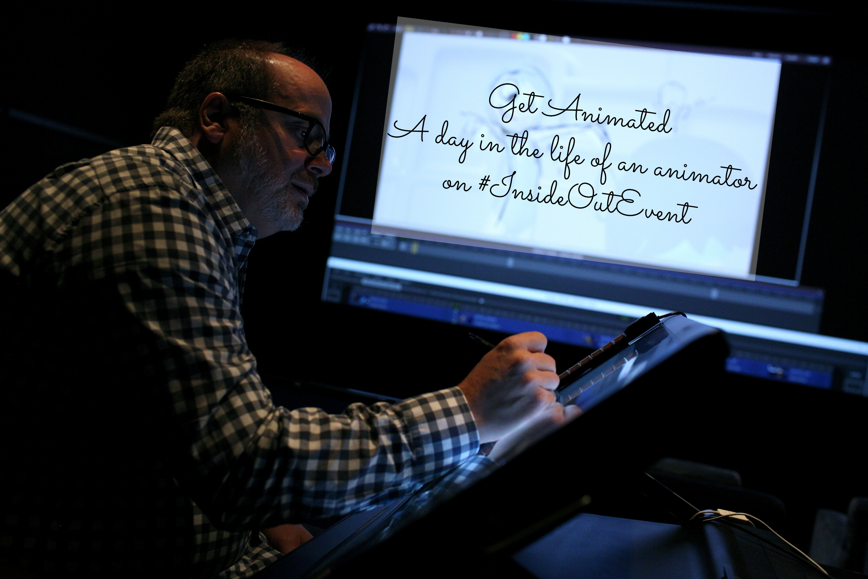 Get Animated – A day in the Life of an Animator on #InsideOutEvent
