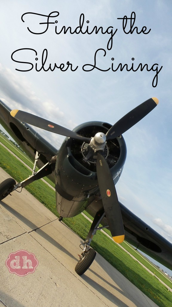 Finding the Silver Lining #iowa #travel #flying