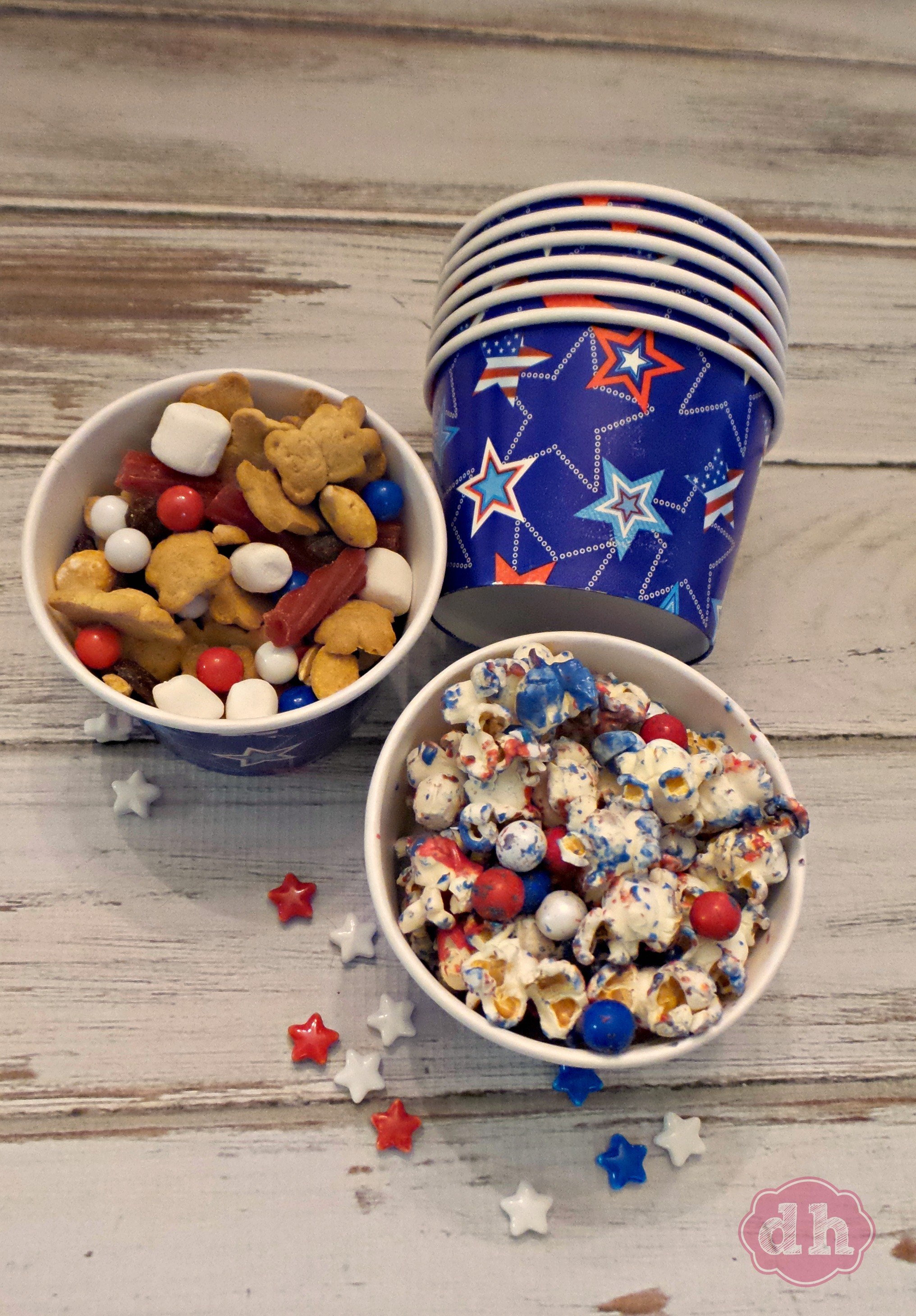 Easy 4th of July Snacks