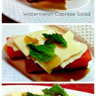 Easy Watermelon Caprese Salad