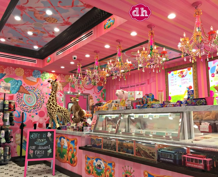 Life is Short, Eat Dessert First … at Sloan's Ice Cream Shop