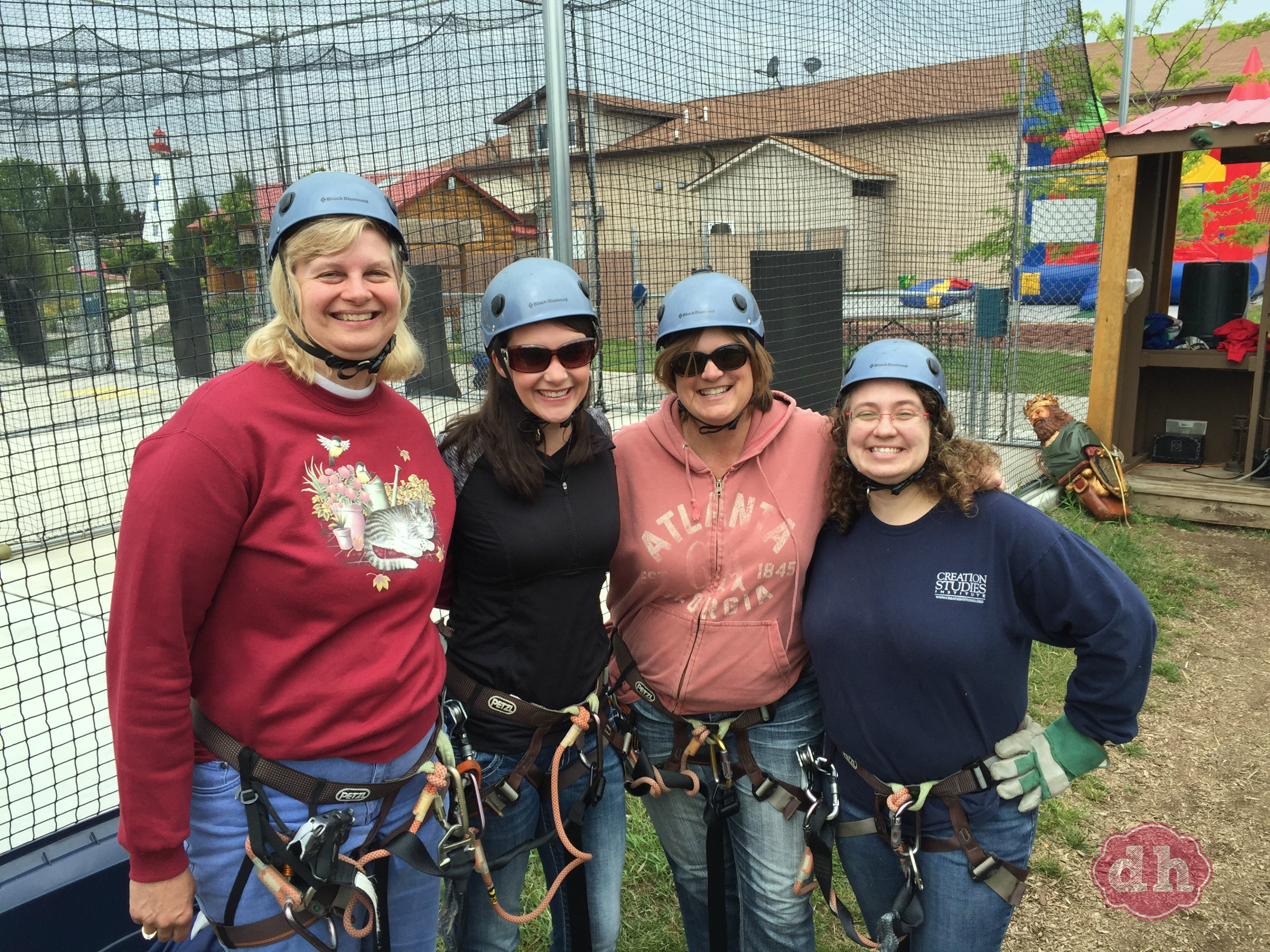 Zip Lining at Gravity Trails
