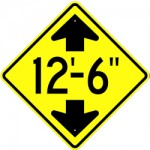 height-sign