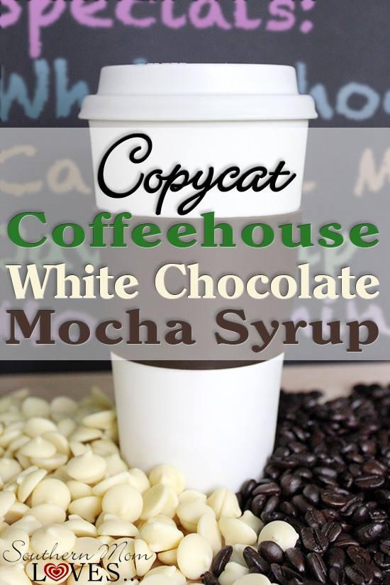 Coffeehouse White Chocolate Mocha Syrup
