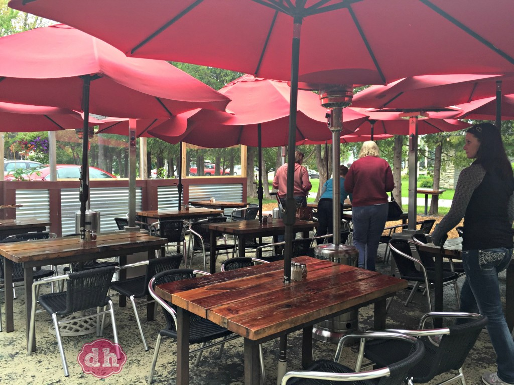 Dining at the wild tomato in fish creek wi for Fish creek wi restaurants