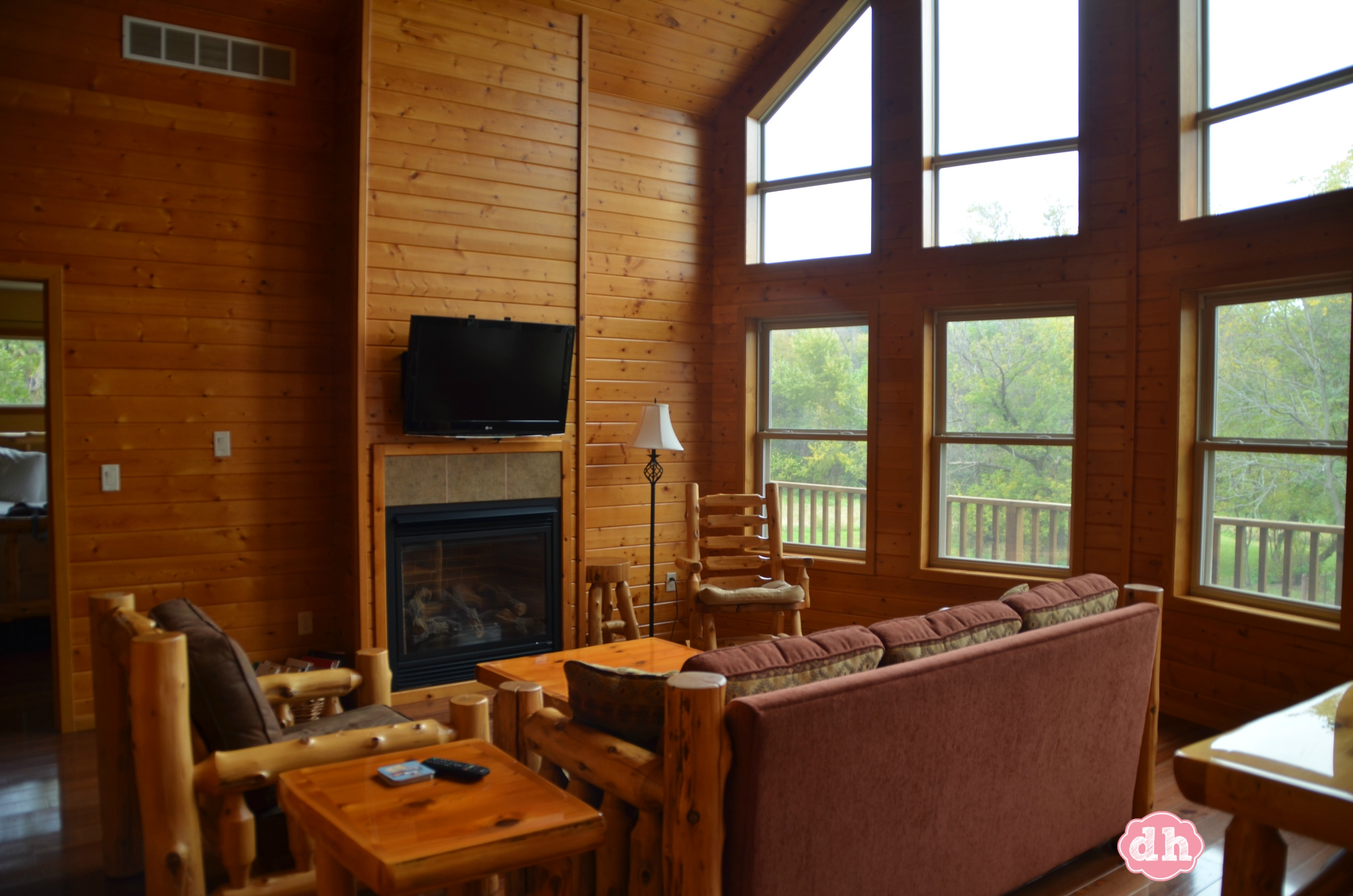 Red Cedar Lodge in Charles City, IA #travel #CharlesCityIA
