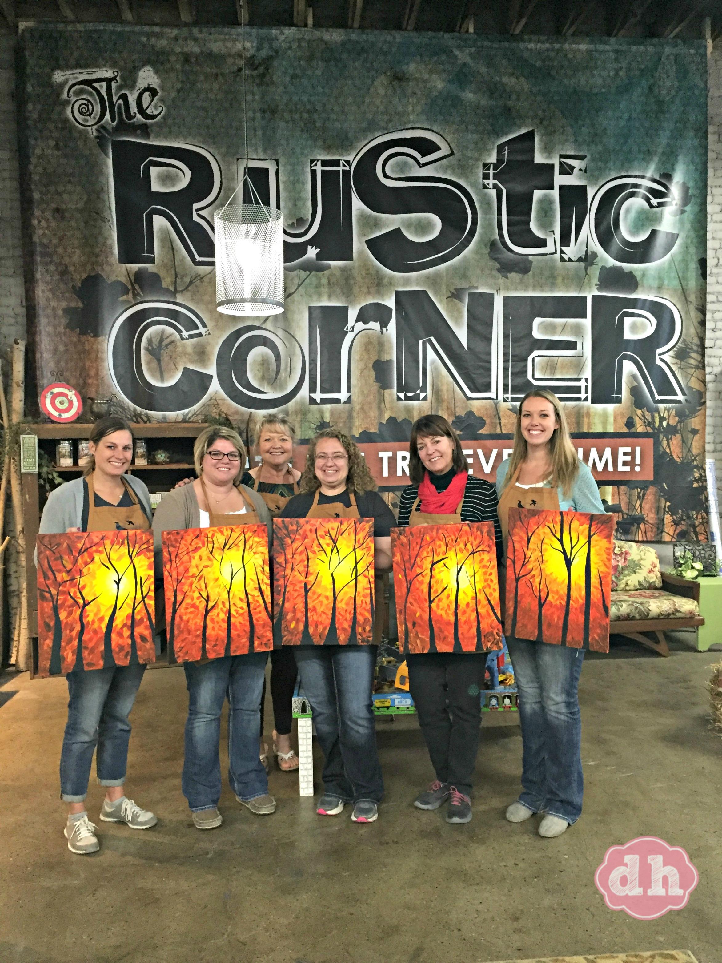 Having Fun at the Rustic Corner in Charles City
