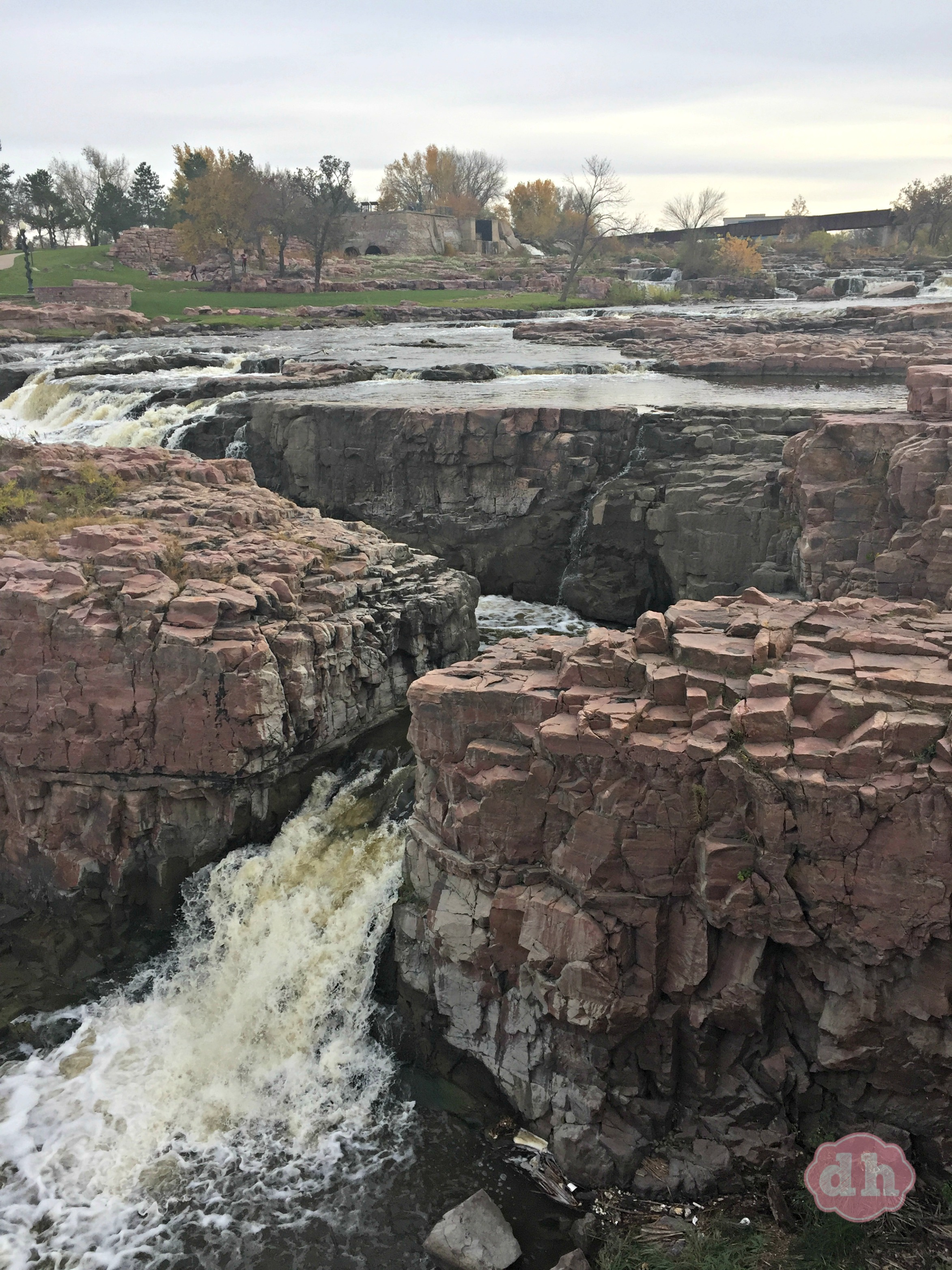 Falls Park in Sioux Falls, SD #VisitSiouxFalls #travel