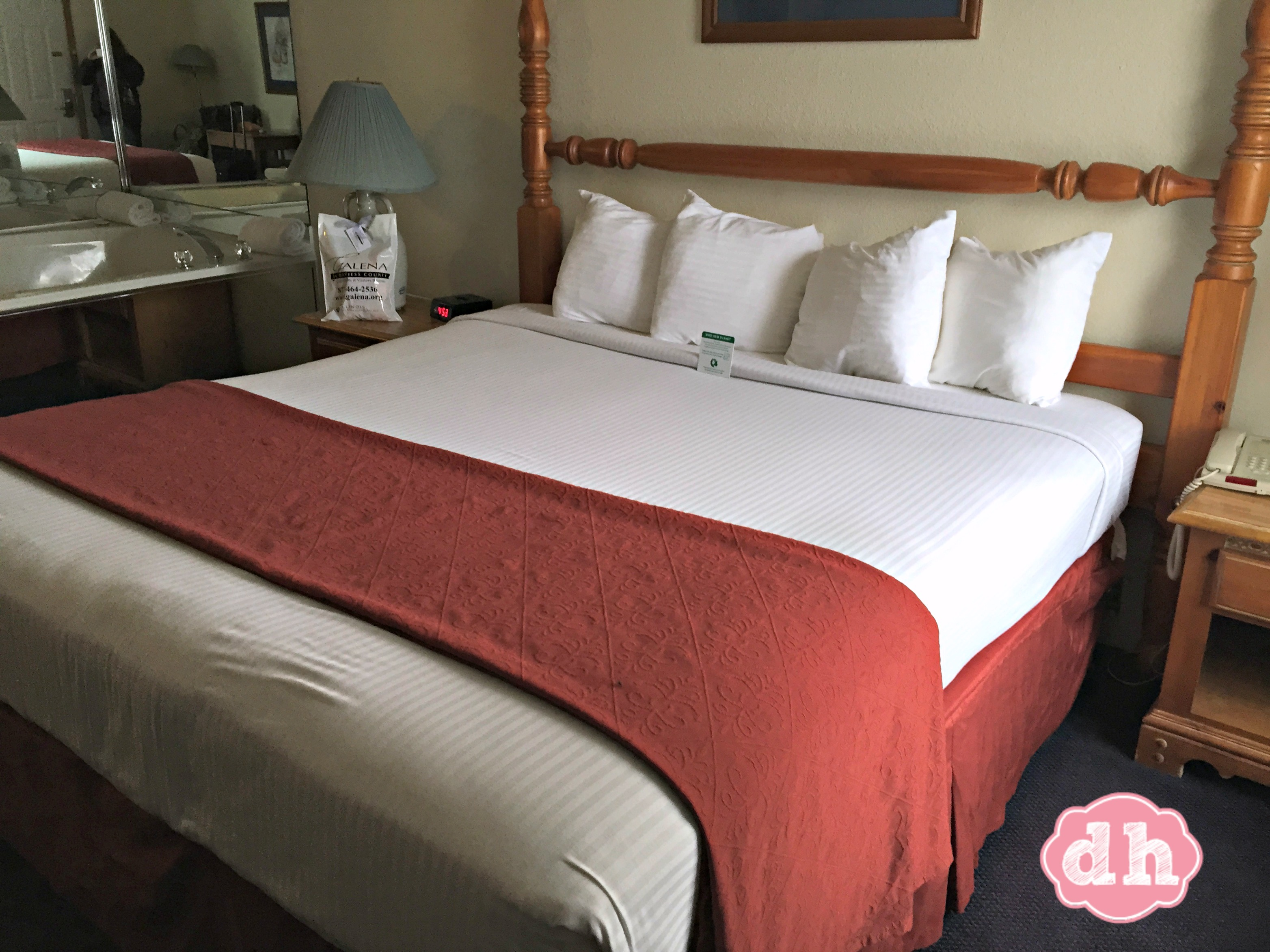 Relaxation at it's best! Best Western in Galena, IL #TravelGalena #EnjoyIllinois