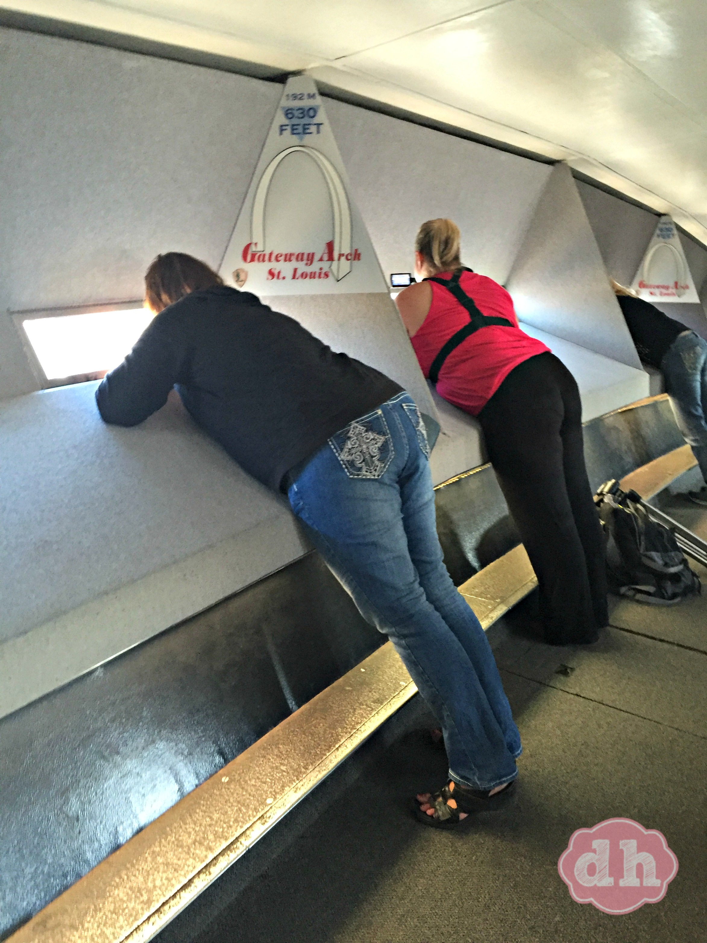 Going Up In The Gateway Arch In St Louis Donnahup Com