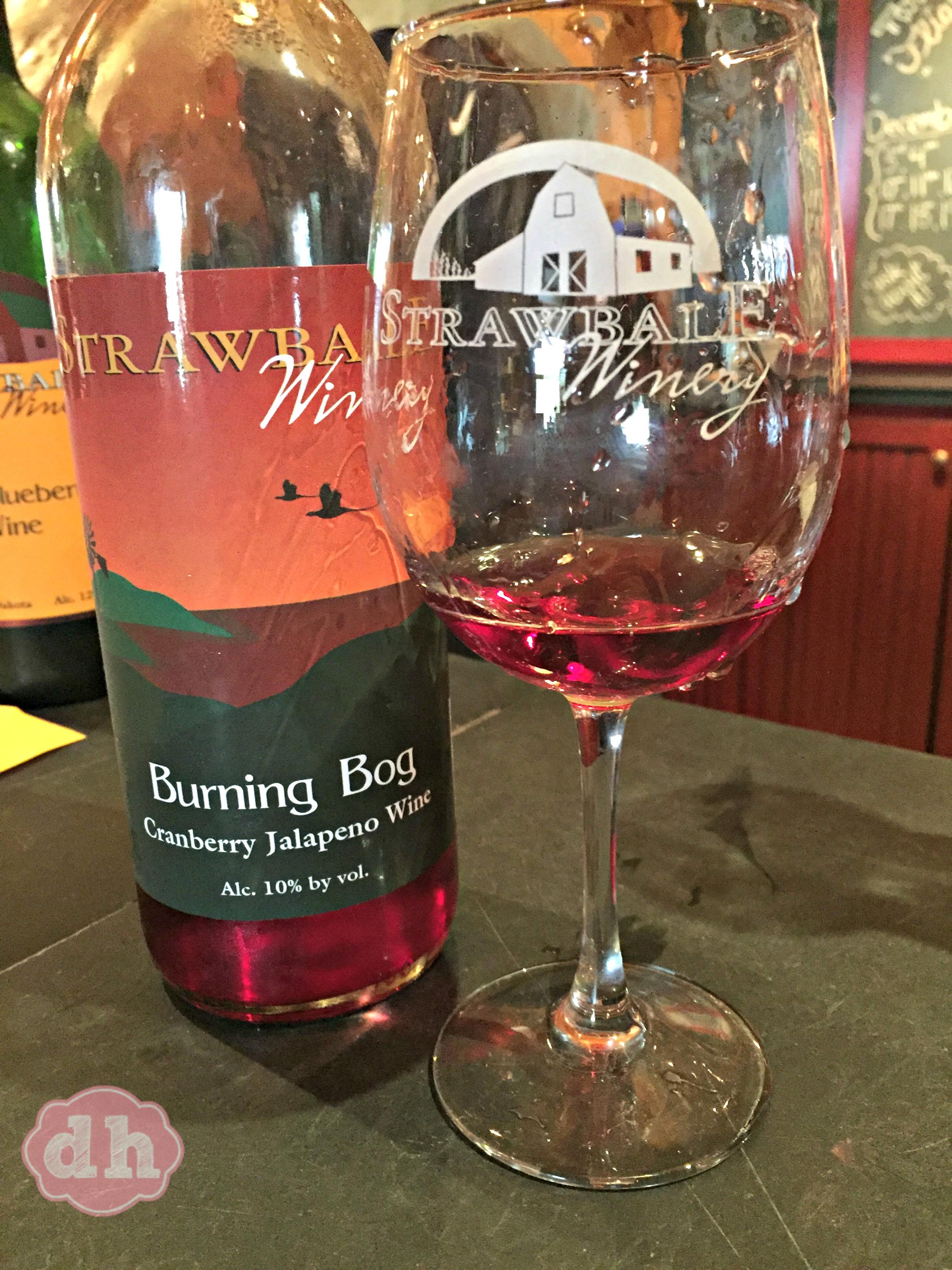 Burning Bog at Strawbale Winery