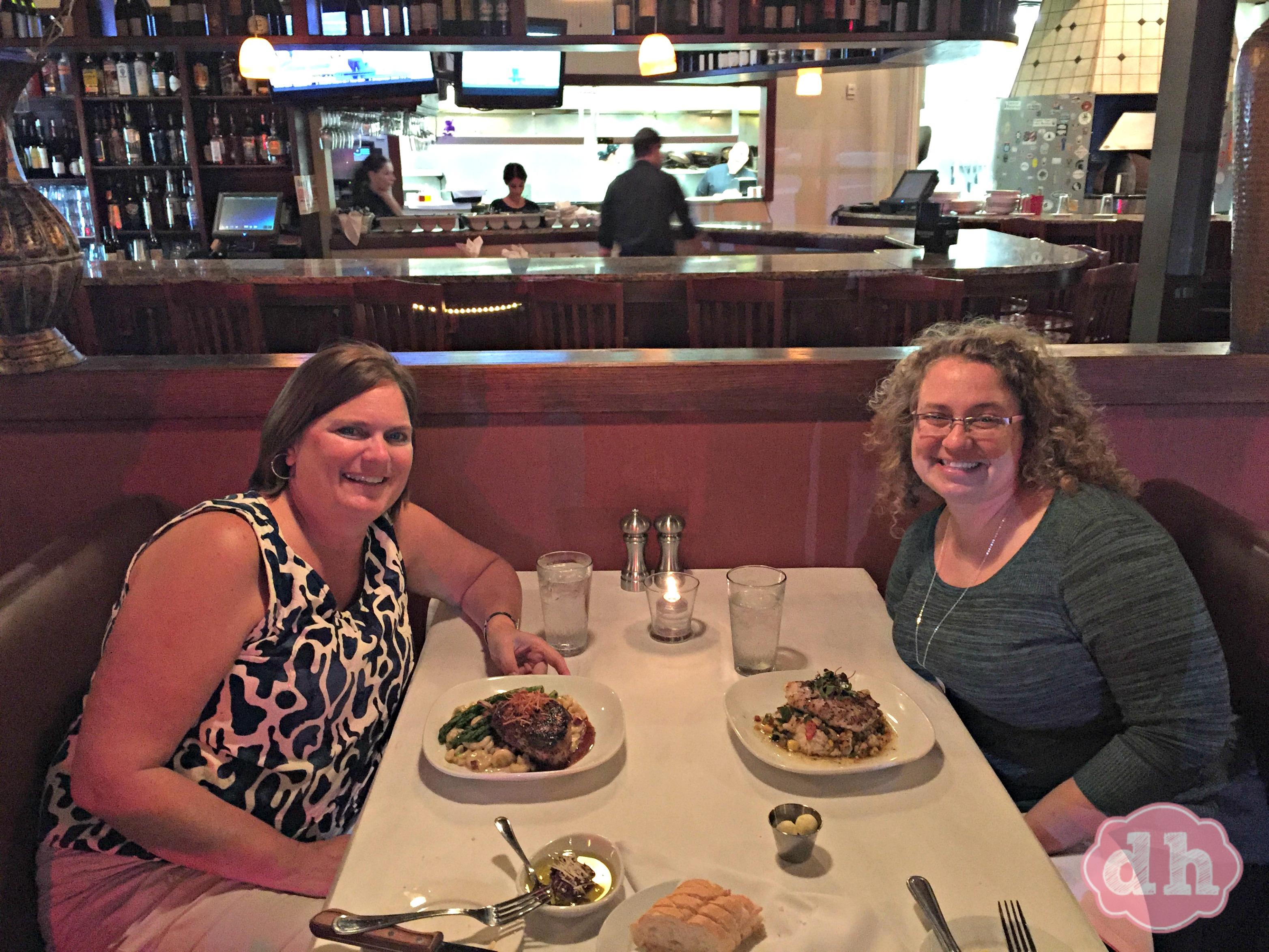 Dinner at Villaggio Grille in Orange Beach