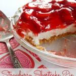 Strawberry Shortcake Pie
