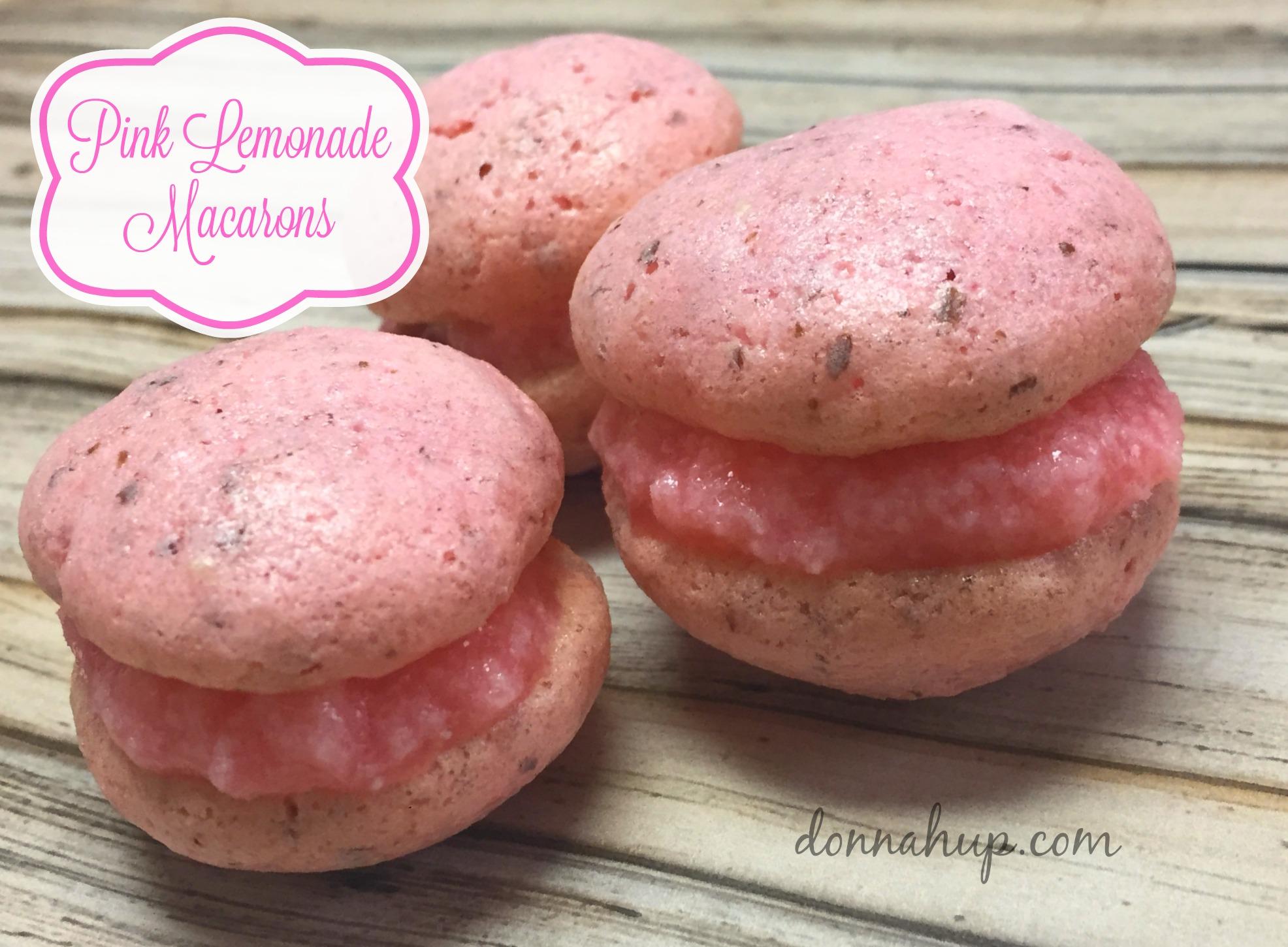 Pink Lemonade Macarons