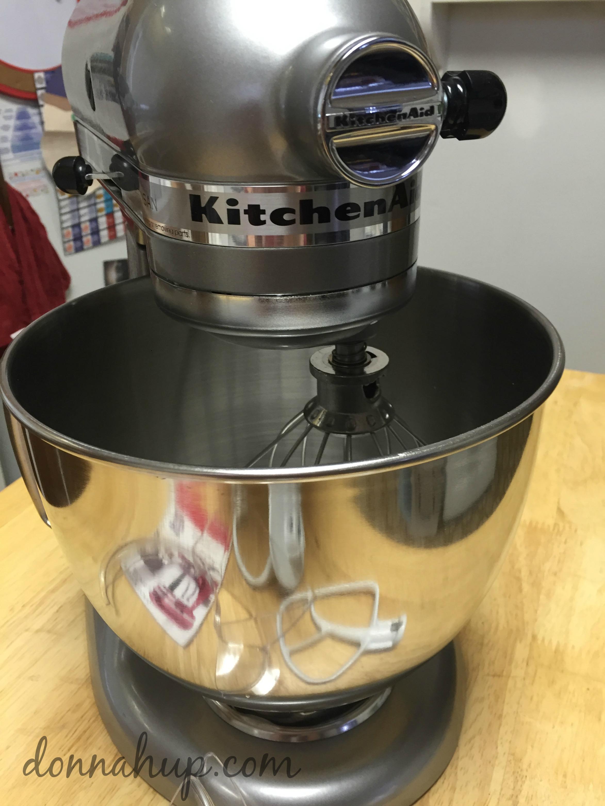 kitchenaid machine not making