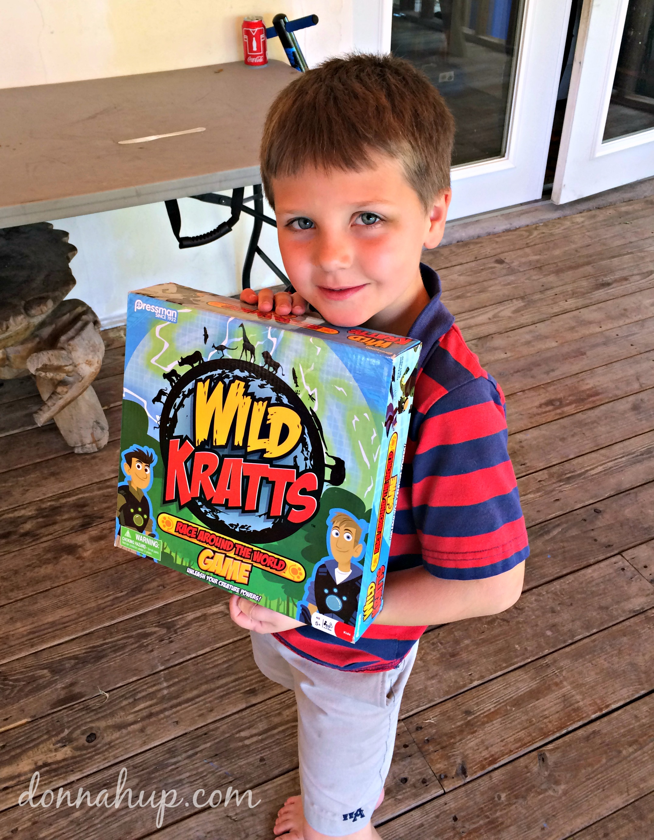 Racing around the World with the Wild Kratts