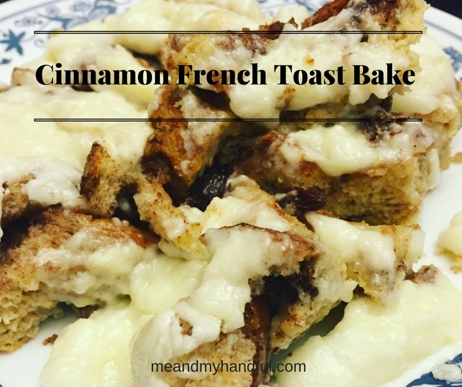 Cinnamon Bun Style French Toast Bake