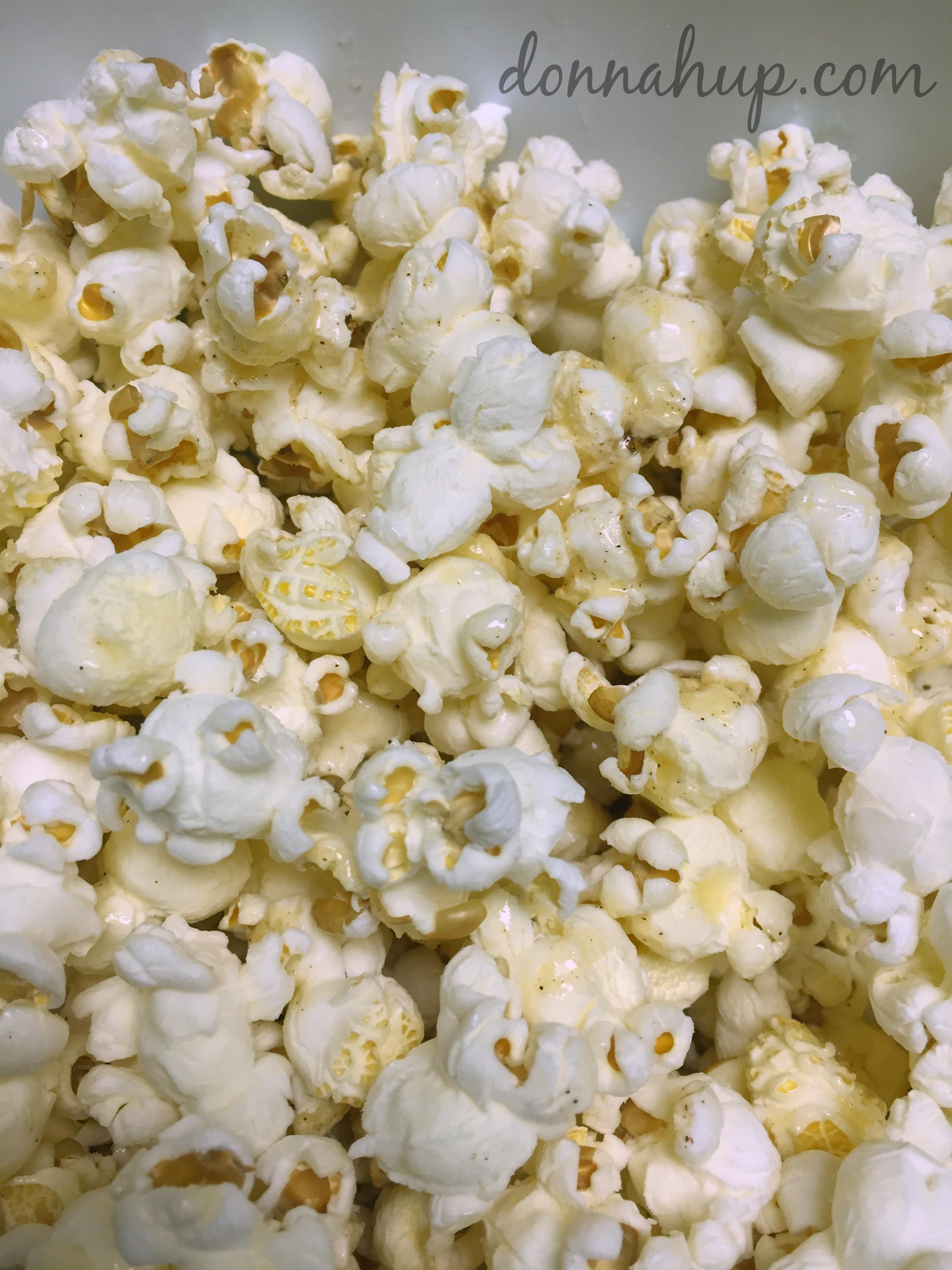 Honey Cinnamon Popcorn