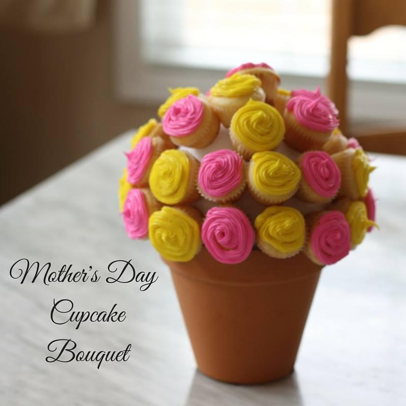 mini cupcake bouquet instructions