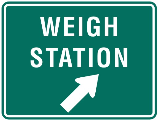 Truck Weigh Stations #TruckerTuesday