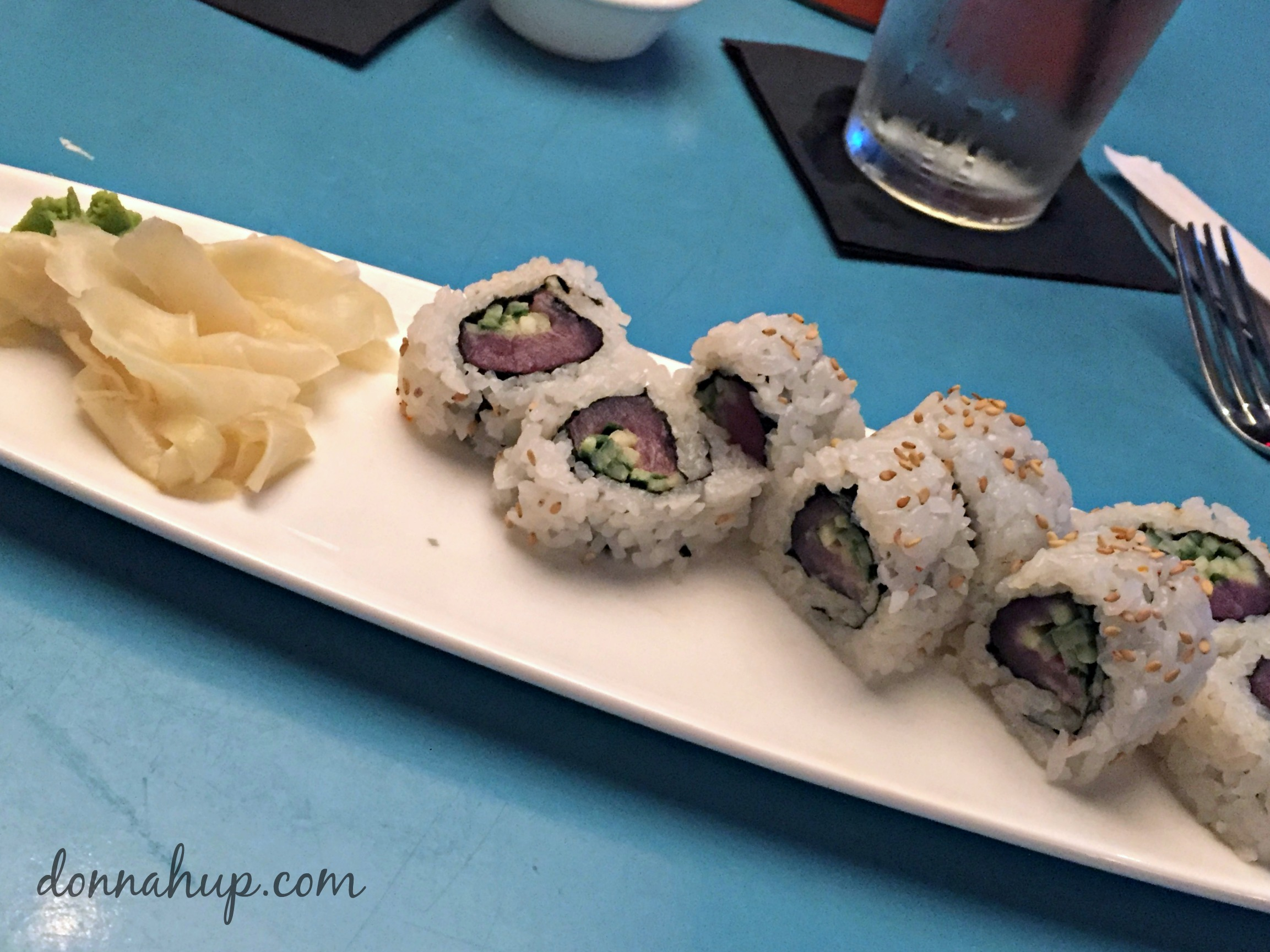 Universal City Walk Featuring Cowfish - Sushi and Burgers