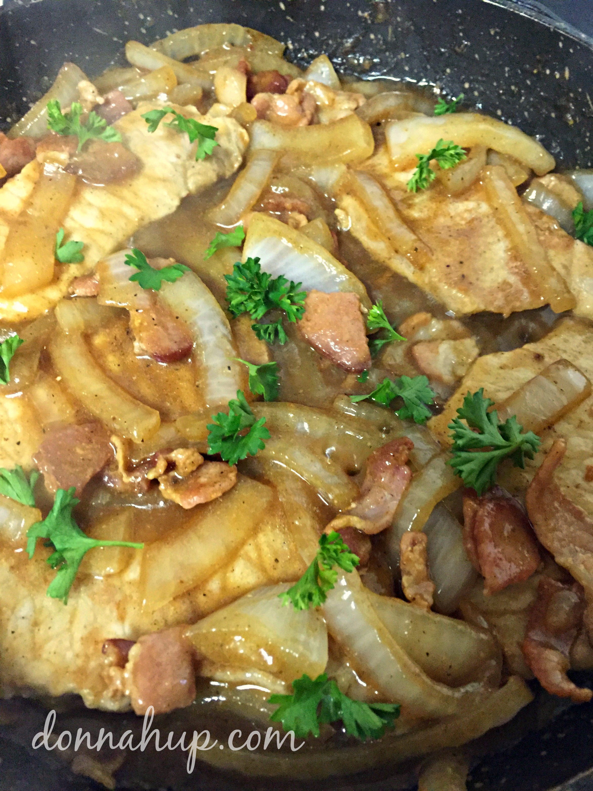 30 Minute French Onion Pork One Pot Meals #AllNaturalPork #recipe #ad