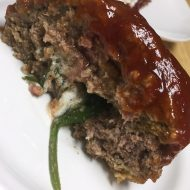 Goat Cheese and	Spinach Stuffed Meatloaf Recipe