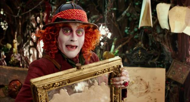 ALICE THROUGH THE LOOKING GLASS Coloring Sheets and Activity