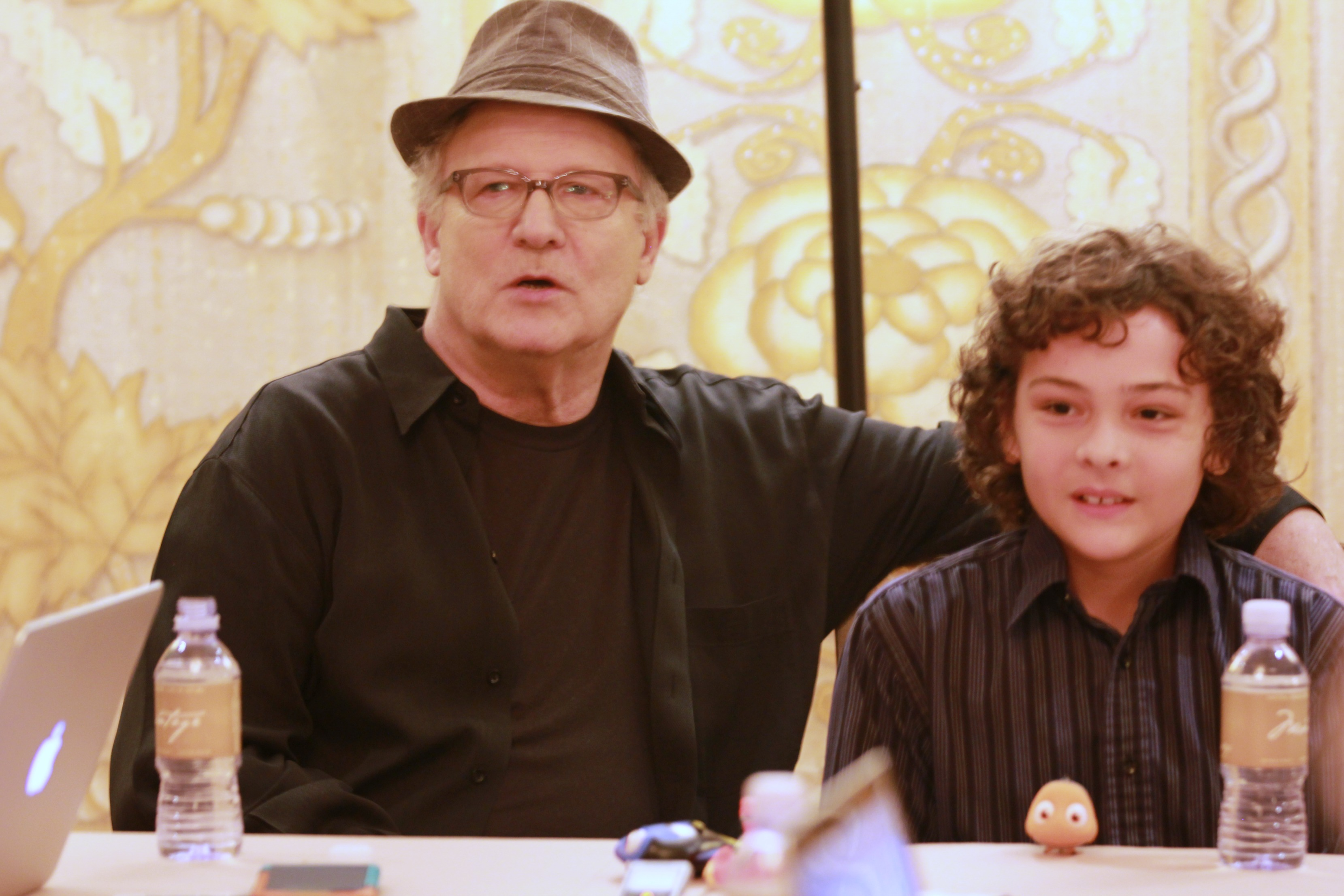 Meet Marlin & Nemo: Albert Brooks & Hayden Rolence