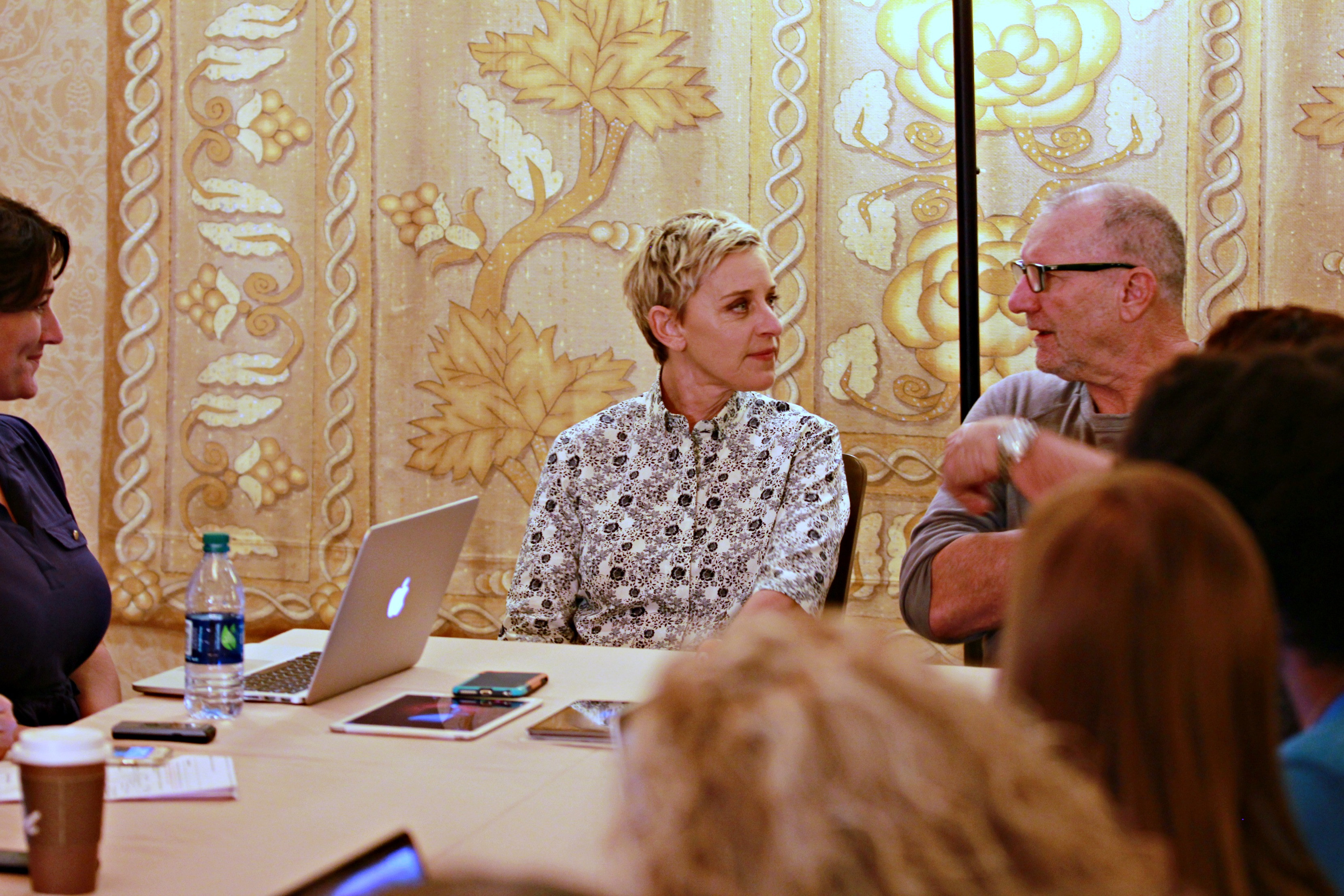 Talking Finding Dory with Ellen DeGeneres and Ed O'Neill