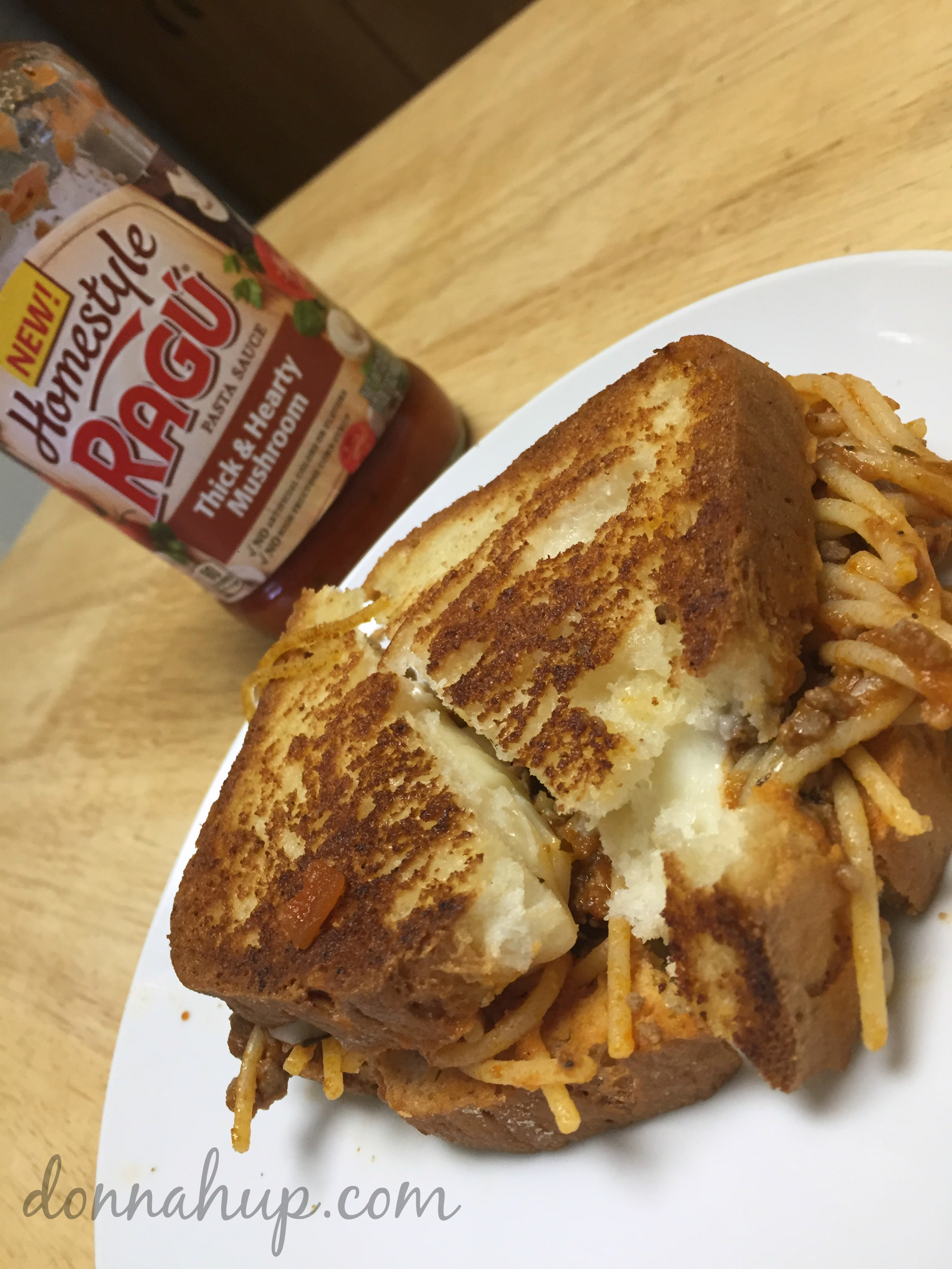 Spaghetti Grilled Cheese Recipe
