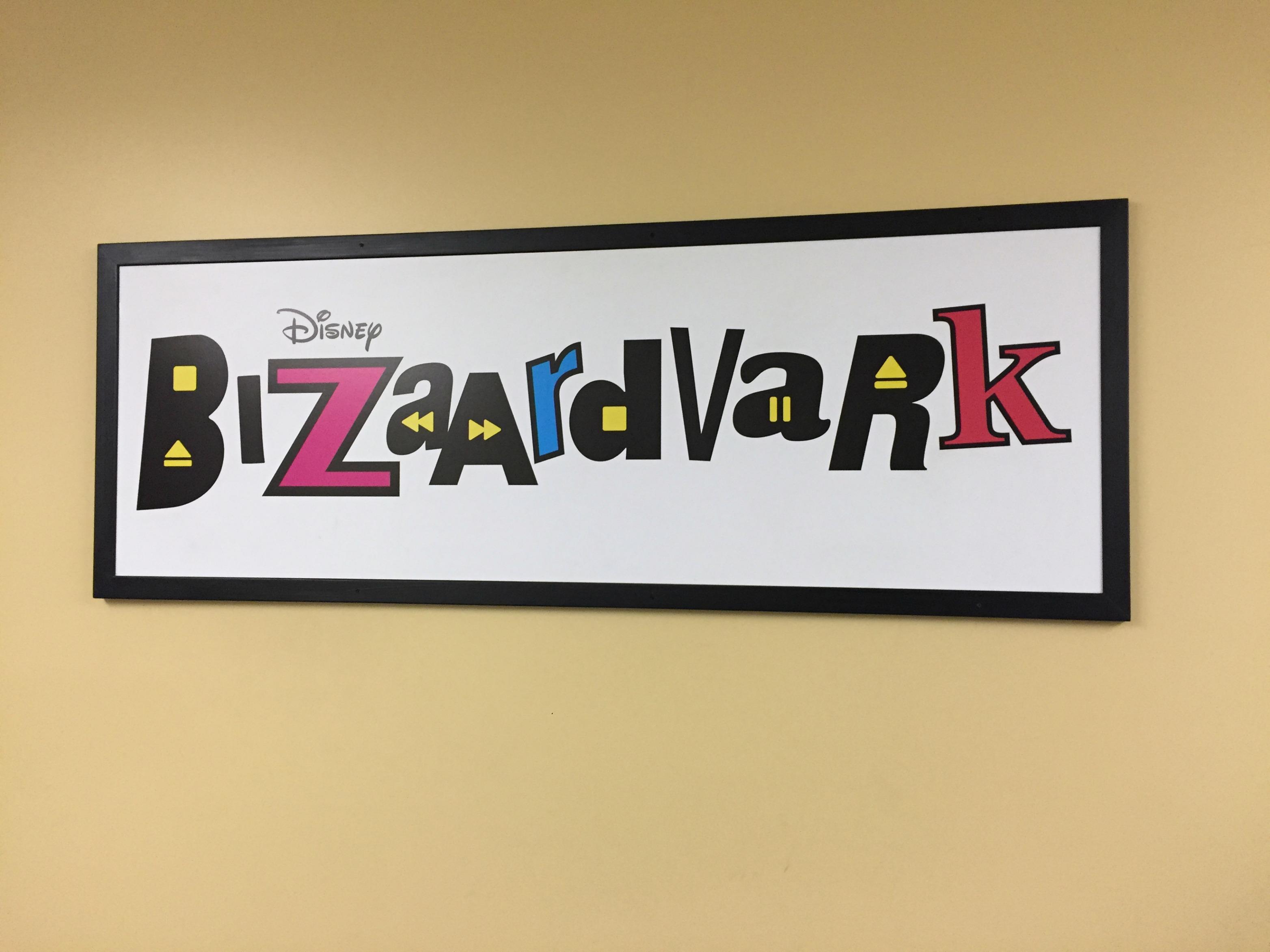 Visiting the set of BIZAARDVARK #Bizaardvark