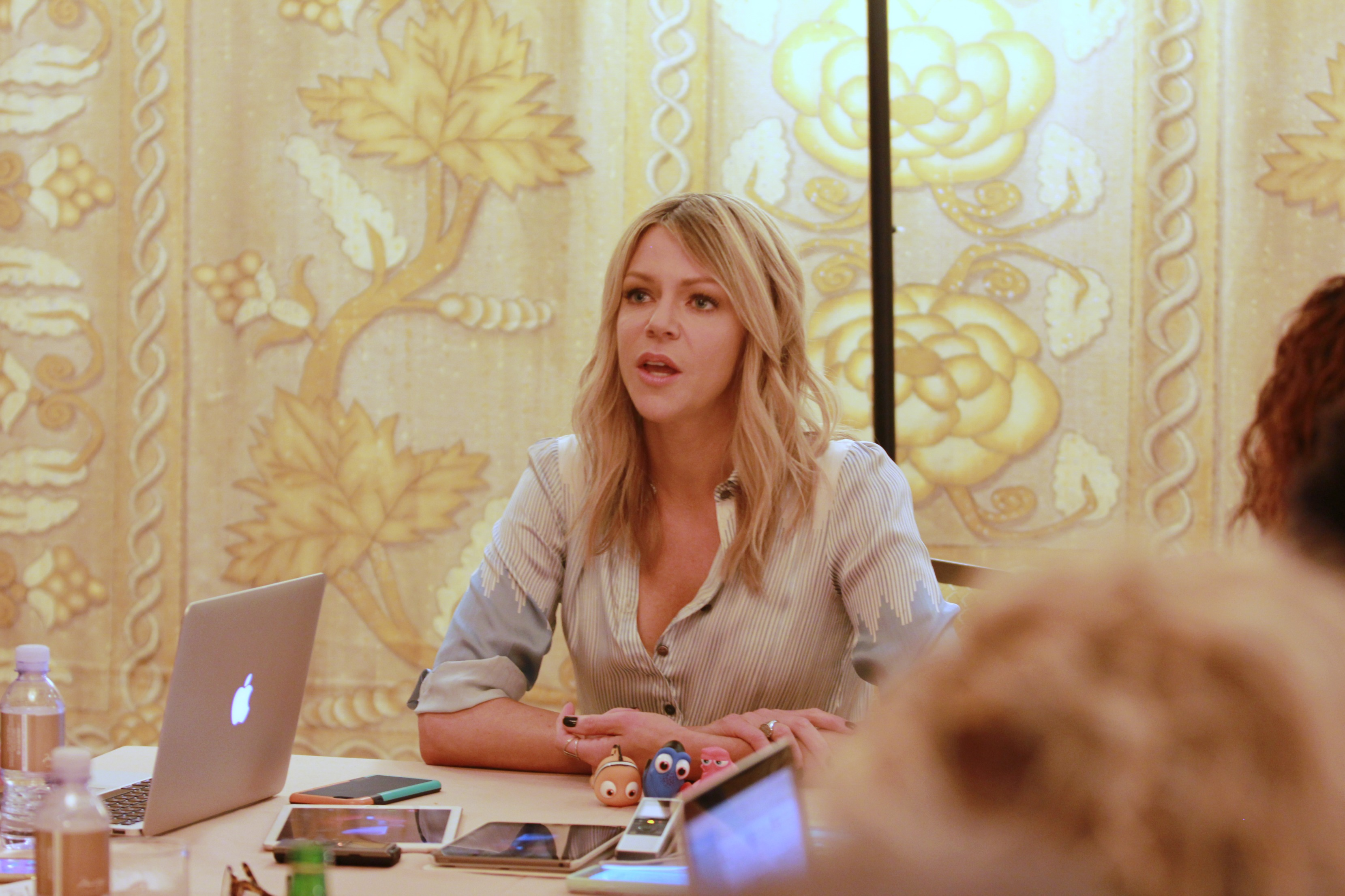 Talking with Kaitlin Olson about Finding Dory #FindingDoryEvent