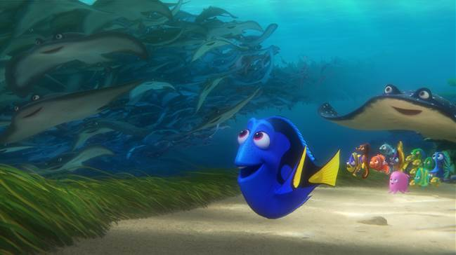FINDING DORY – Now Playing in Theatres Everywhere