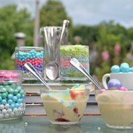 Summer Ice Cream Topping Bar