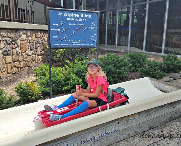 Ober Gatlinburg Ski Resort Tennessee in the Summer