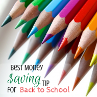 Best Money Saving Tip for Back to School