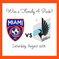 Win a Family 4 Pack to a Miami FC Soccer Game
