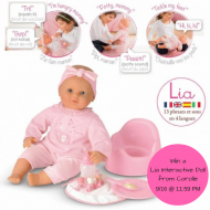 Win a Lia Interactive Doll from Corolle