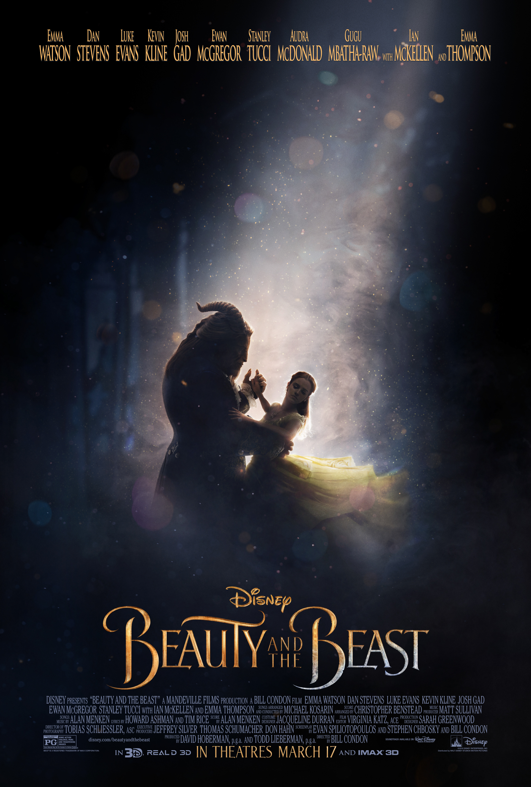 BEAUTY AND THE BEAST - New Poster is Here