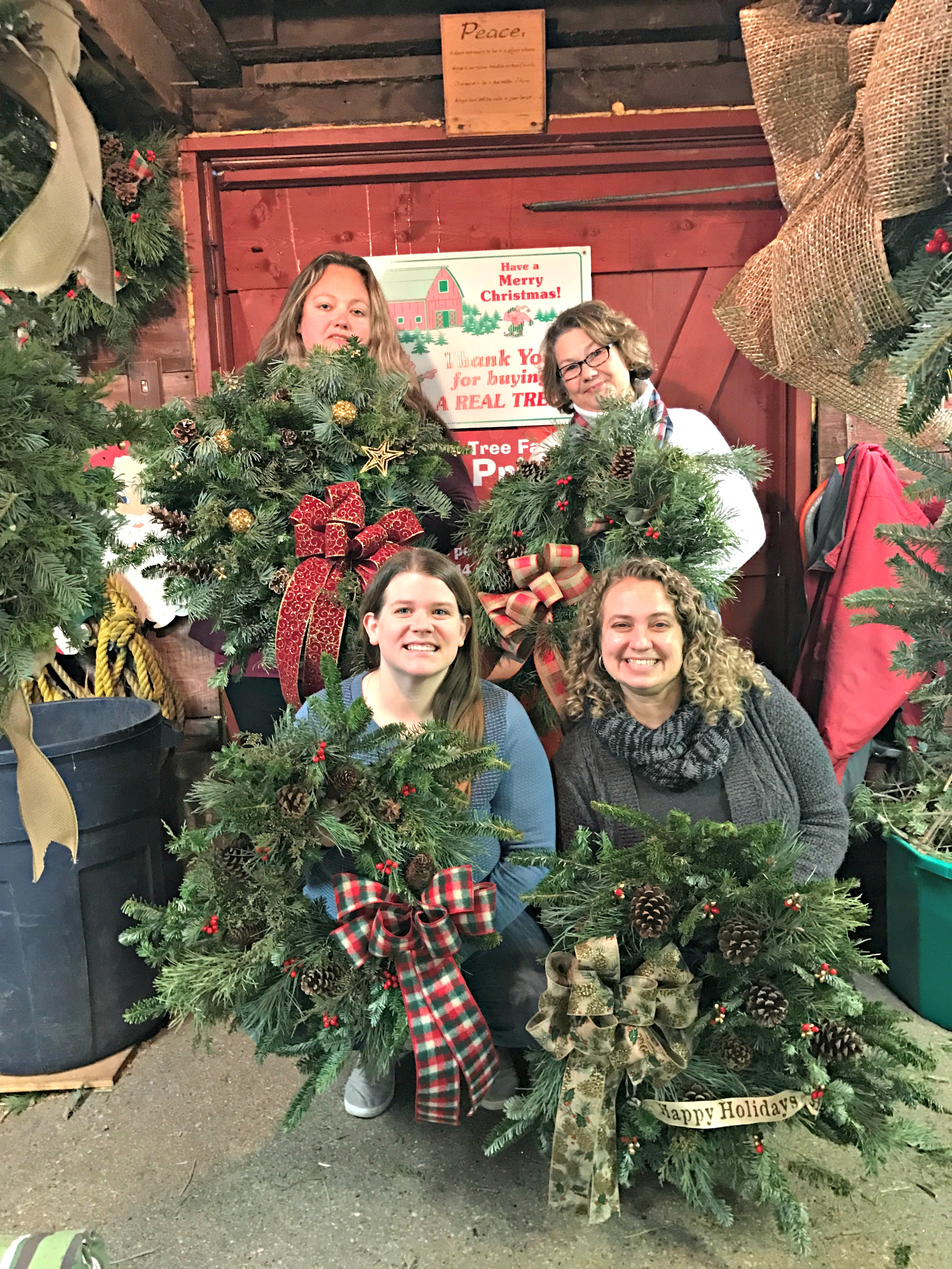 Fun at the Carlson Tree Farm