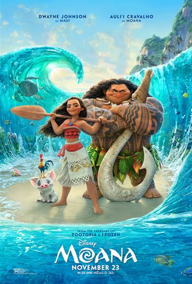 MOANA - A New Clip & Featurette Now Available