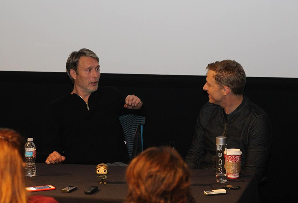 Talking ROGUE ONE with Mads Mikkelsen and Alan Tudyk