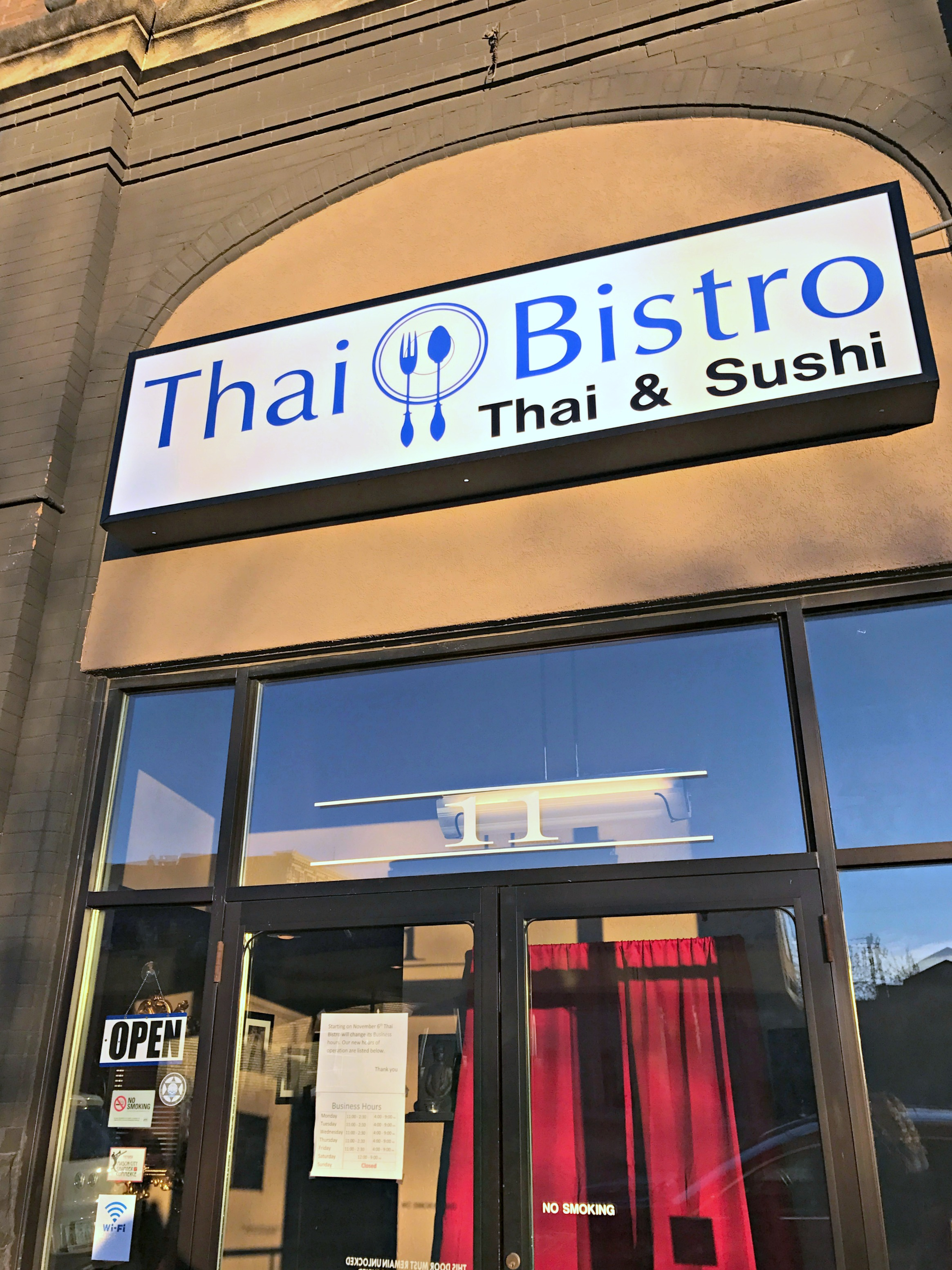 Date Night at Thai Bistro in Mason City
