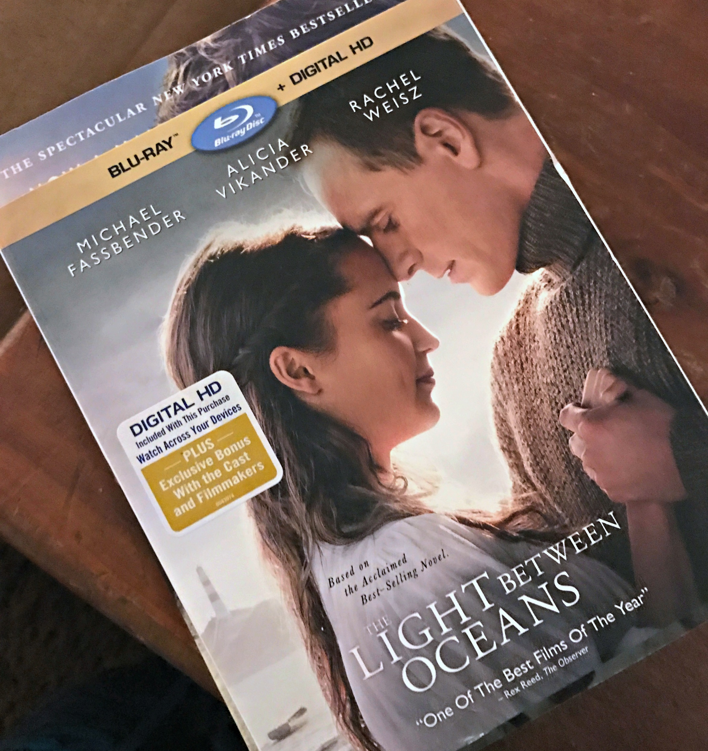 Sharing The Light Between Oceans with my Sisters