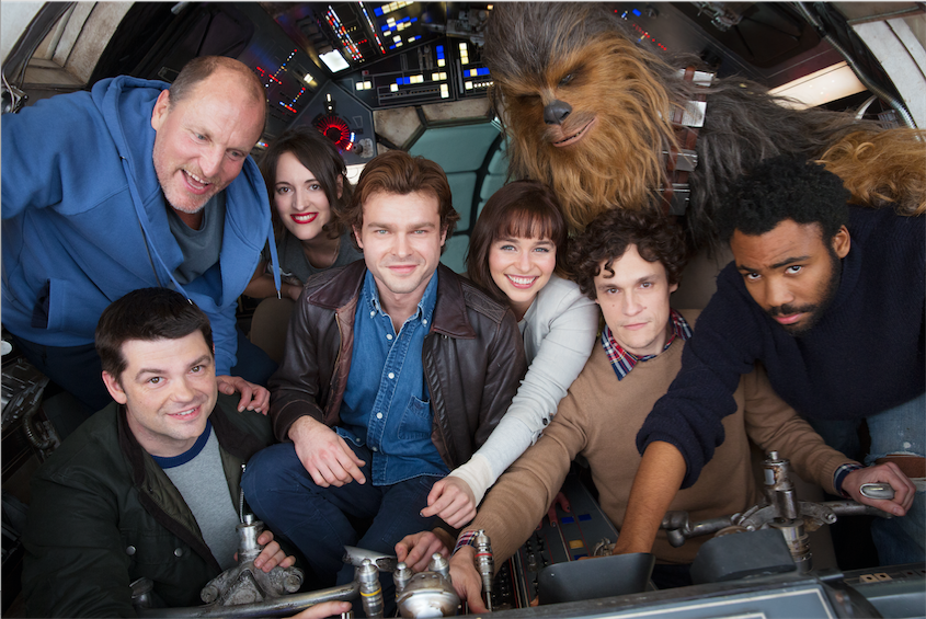HAN SOLO - A NEW STAR WARS STORY BEGINS PRODUCTION!!!