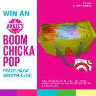 Boom Chicka Pop Giveaway