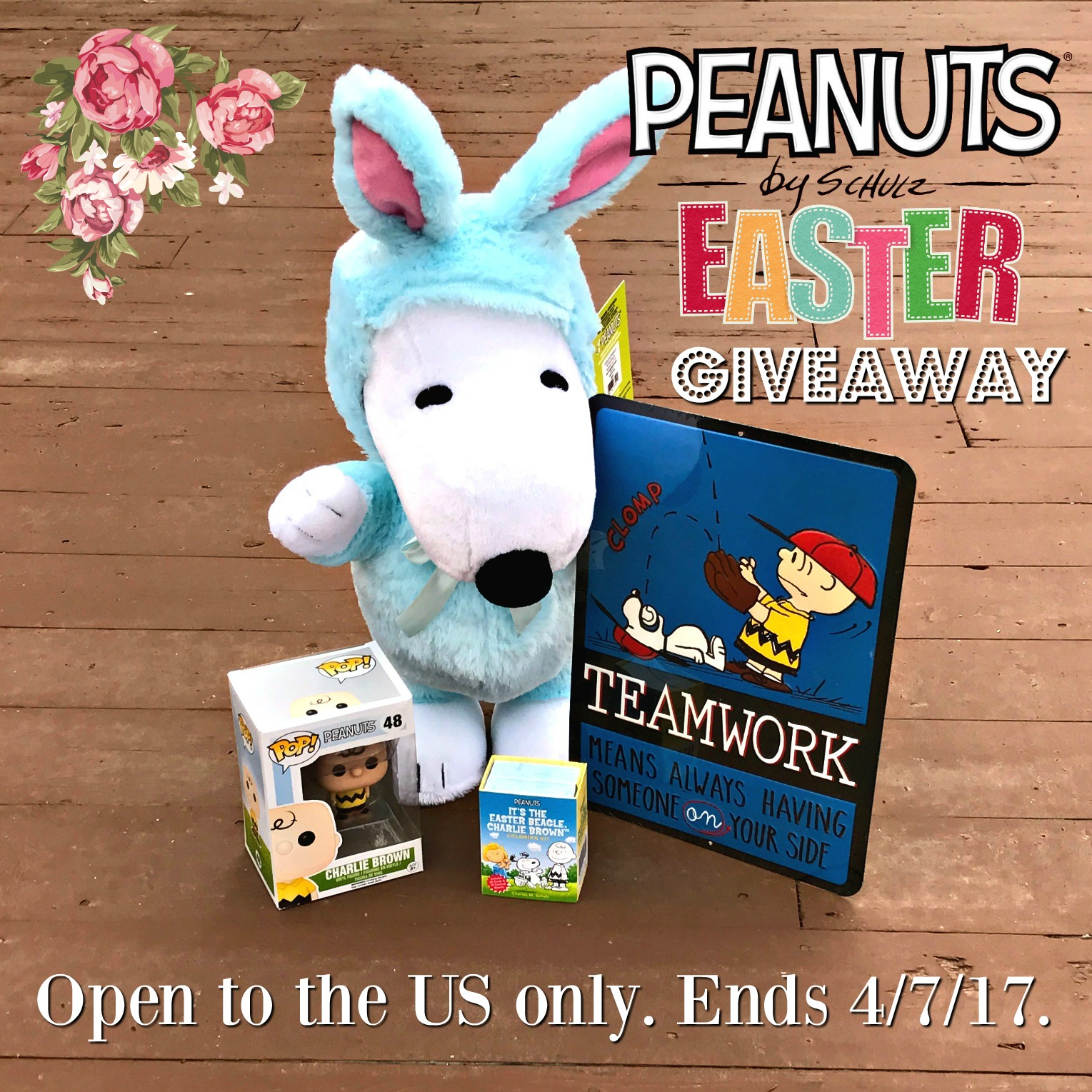 Enter the Peanuts Easter Giveaway. Ends 4/7
